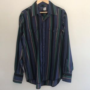 Vintage 60's Wrangler Button Down Shirt